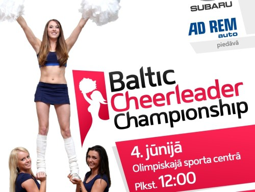Arī šogad cīņa par Baltijas labākās karsējmeiteņu komandas titulu