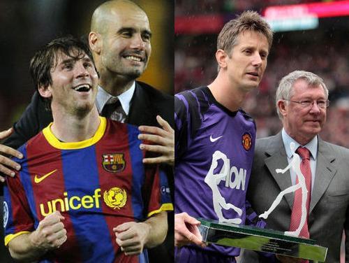 """Manchester United"" pret ""Barcelona"" Vemblijā – kurš savāks ČL trofeju?"