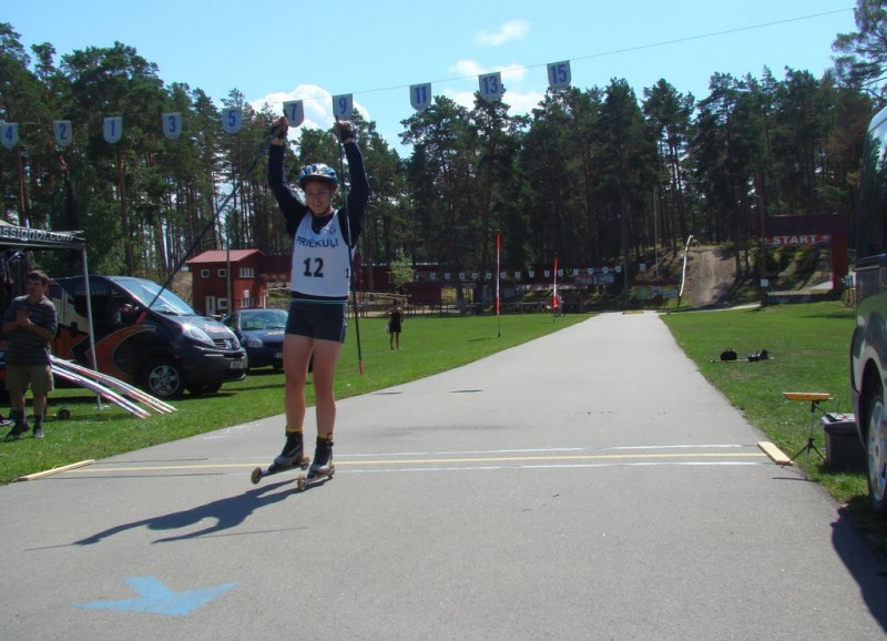 Baltijas kausā rollerslēpošanā pirmās vietas Latvijai un Igaunijai