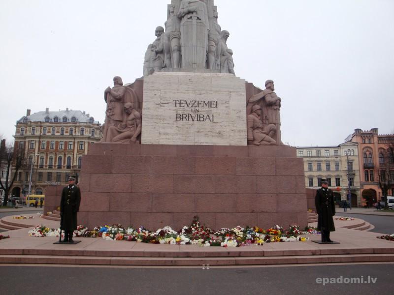 Brīvības piemineklis - latviešu tautas brīvības simbols