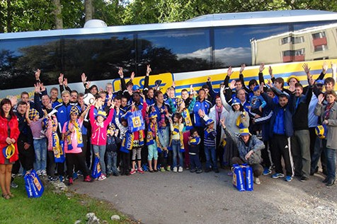 "FK ""Ventspils"" futbolisti pirms spēles ar ""Skonto"" dodas pie bērniem"