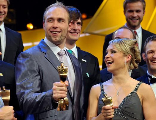 Vācijas gada labākie: Noinere un Hartings