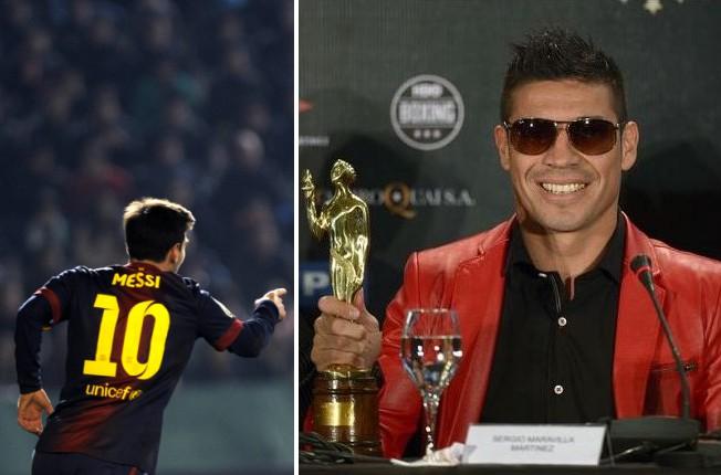 Mesi - tikai trešais gada labākais Argentīnas sportists