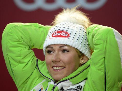 Slalomā vēsturisku zeltu izcīna 18 gadus vecā Šifrina, Gasūna trīsdesmitniekā