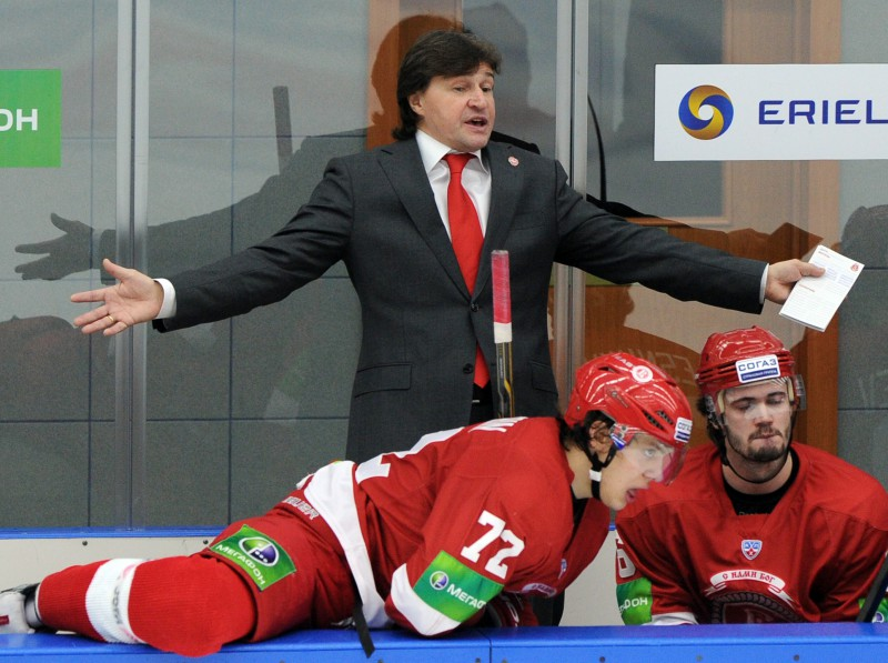 """""""Amur"""" turpmāk vadīs līdzšinējais """"Vityaz"""" treneris Ļeonovs"""