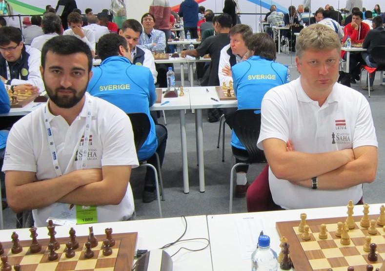 Širovs starp līderiem pēc septītās kārtas RTU šaha turnīrā