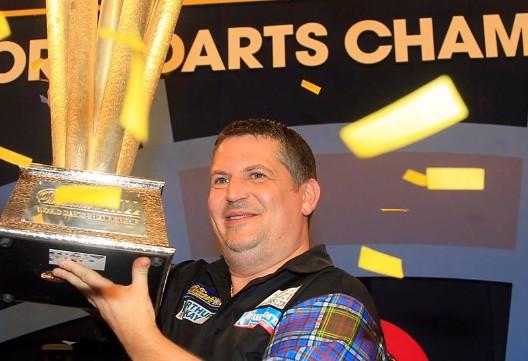 PDC šautriņu pasaules čempionātā negaidīti triumfē Andersons