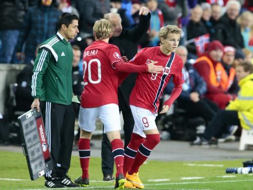 """Madrides """"Real"""" vienojas par norvēģu brīnumbērna Ēdegora iegādi"""