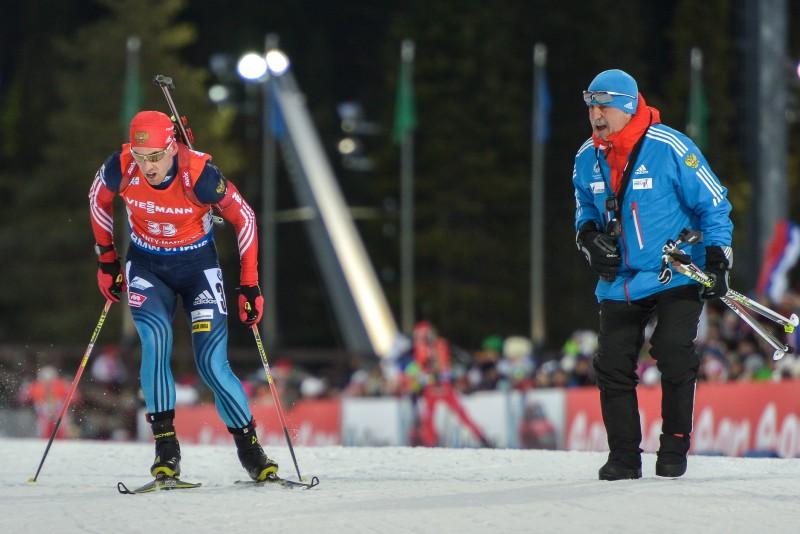 Skandāls Krievijas biatlonā: sportisti atsakās turpināt strādāt Kasperoviča vadībā