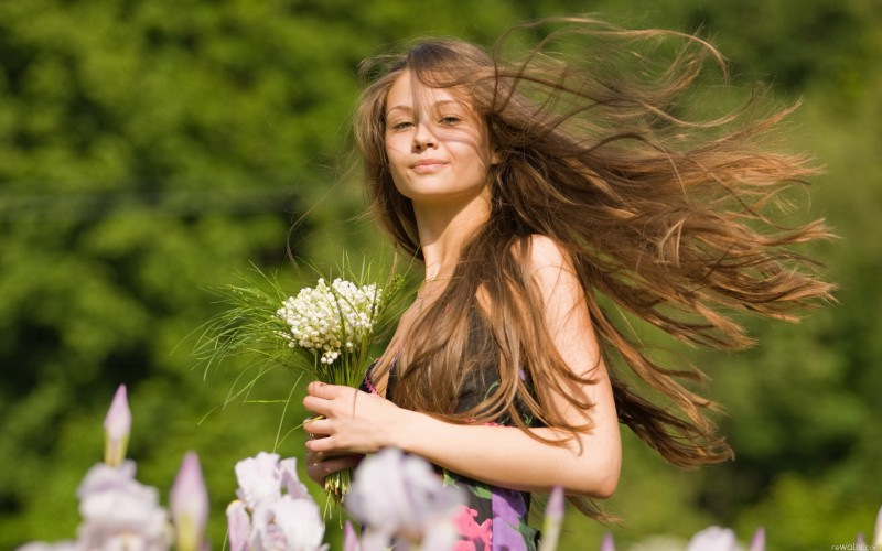 Veselīgi mati ar dabas veltēm