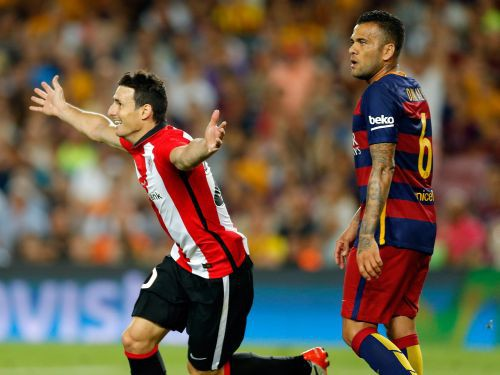 """""""Athletic"""" spēlē neizšķirti Barselonā un iegūst Spānijas Superkausu"""