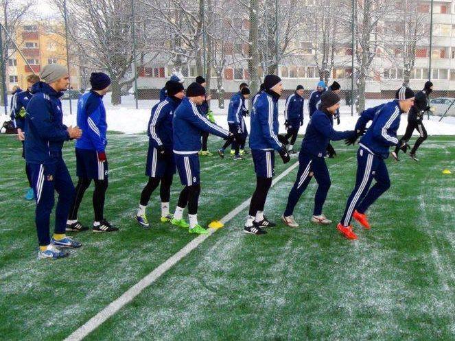 """FK """"Ventspils"""" sācis gatavošanos sezonai"""