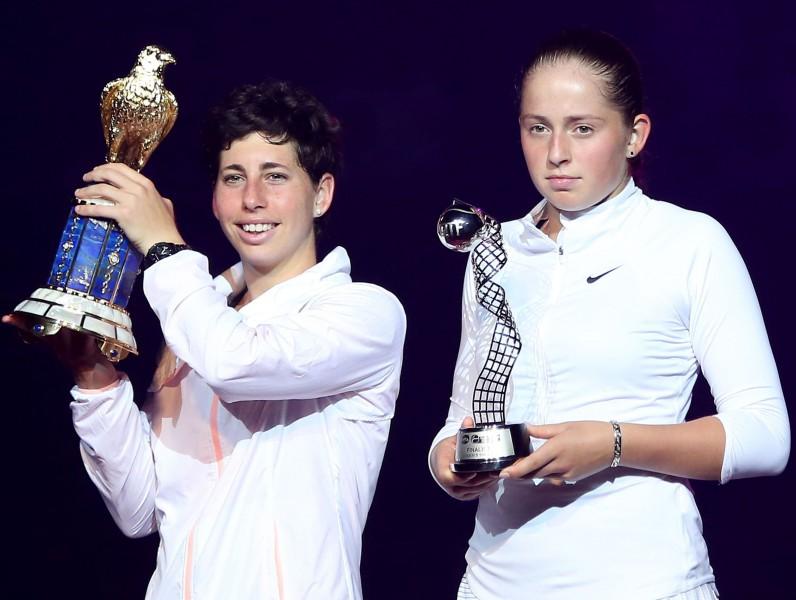 Ostapenko nenotur pārsvaru un zaudē arī savā otrajā WTA finālā