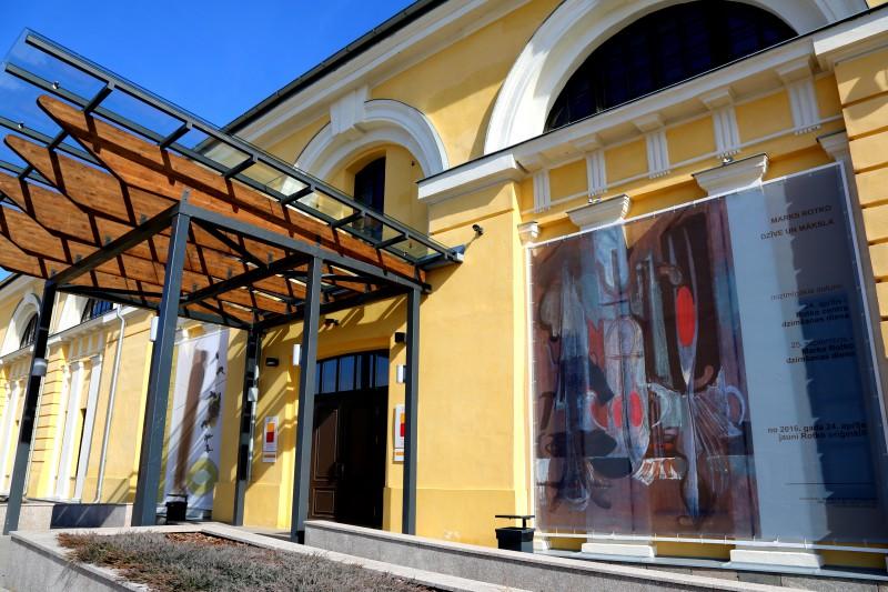 24. aprīlī ar otām rokās uz Marka Rotko mākslas centru!