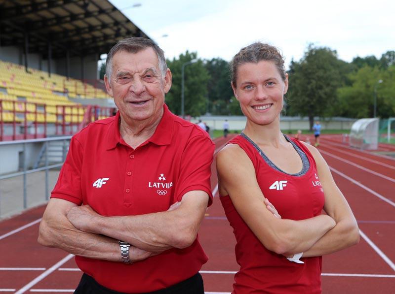 Smolonskis un Pastare kļūst par Latvijas čempioniem 10 000 metru soļojumā
