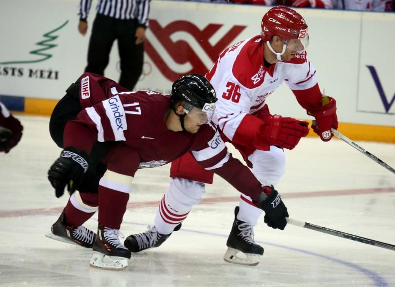 Latvijas izlase pārbaudes spēlē ar 0:3 piekāpjas dāņiem