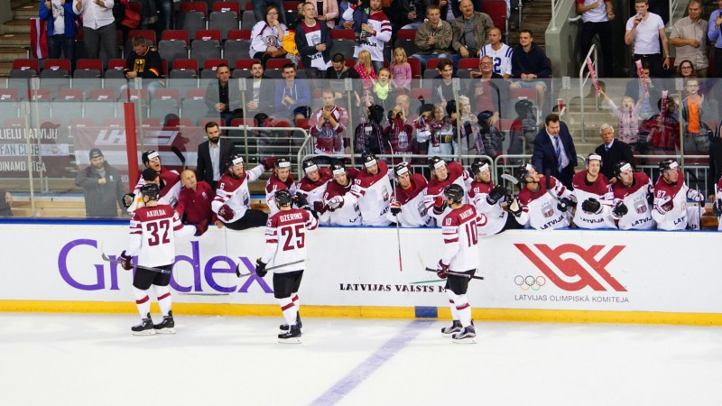 Latvijas izlasei kvalifikācijas turnīrā pārliecinoša uzvara pār Austriju