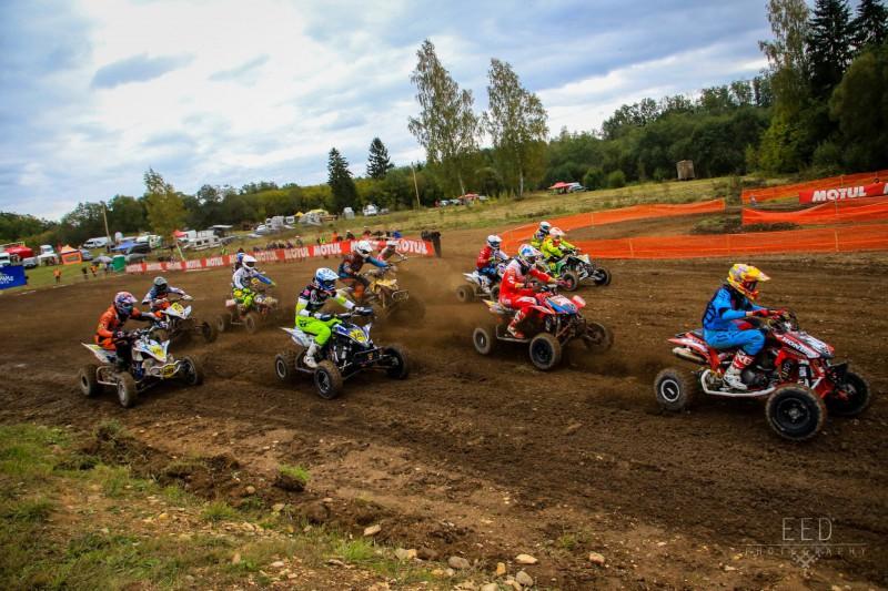 Sadalīti Latvijas motokrosa čempionāta kvadraciklu un blakusvāģu klašu tituli