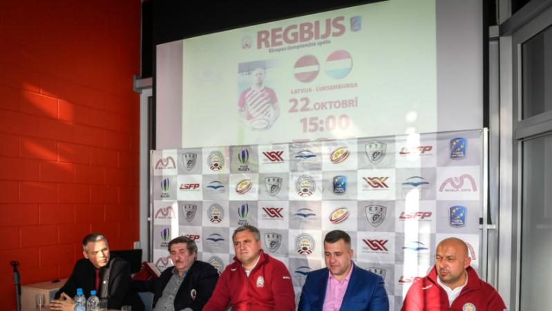 Latvijas regbija izlase ar angļu brāļiem cer spert nākamo soli