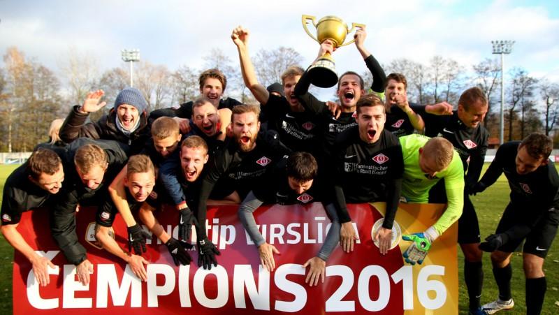 """Jūrmalas """"Spartaks"""" pirmo reizi kļūst par Latvijas čempionu"""
