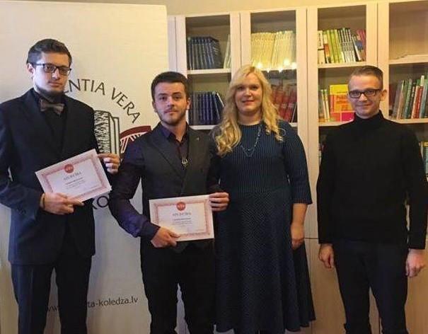 Alberta koledžas talanti saņem innoWate stipendijas