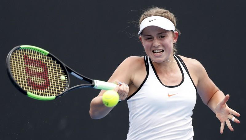 """Ostapenko pārtrauc piecu zaudējumu sēriju """"Grand Slam"""" sacensībās"""