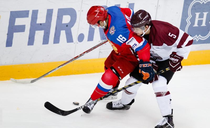 Latvijas U-20 izlase papildlaikā pārspēj Krieviju