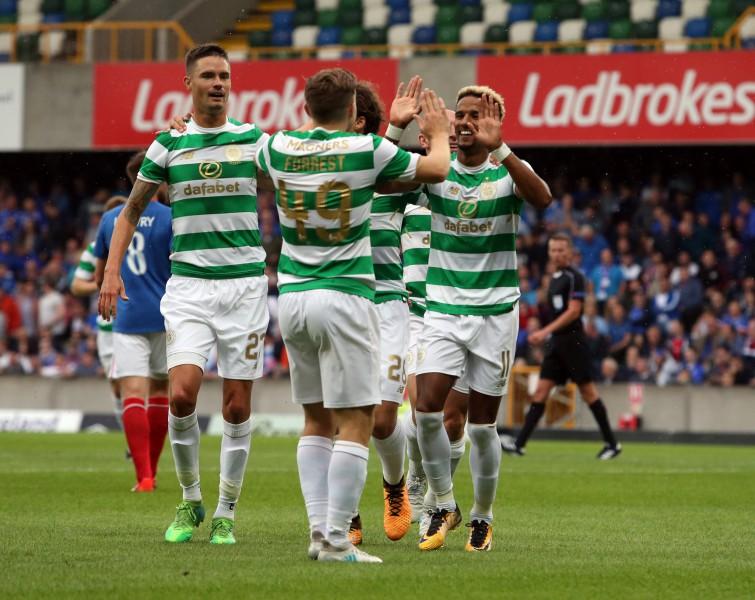 """ČL: Glāzgovas """"Celtic"""" dominē un izcīna pelnītu uzvaru neviesmīlīgajā Belfāstā"""