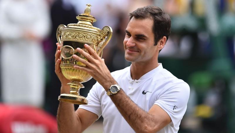 Federers kļūst par pirmo tenisistu ar astoņiem Vimbldonas tituliem