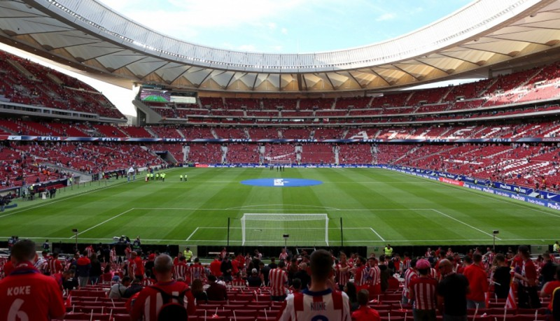 Madrides ''Atletico'' jaunais stadions uzņems 2019. gada ČL finālu