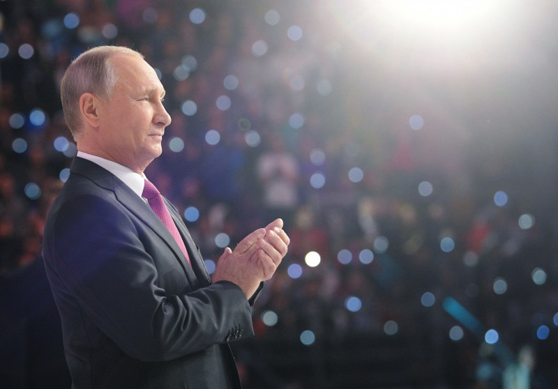 Putins: Krievija neboikotēs Phjončhanas olimpiskās spēles