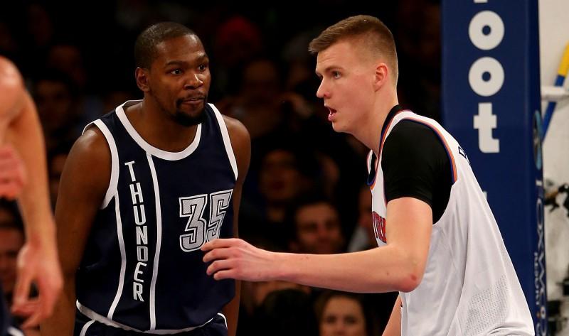 """Medijs: Ja """"Knicks"""" vilcināsies, šovasar Porziņģim līgumu varētu piedāvāt arī """"Spurs"""""""