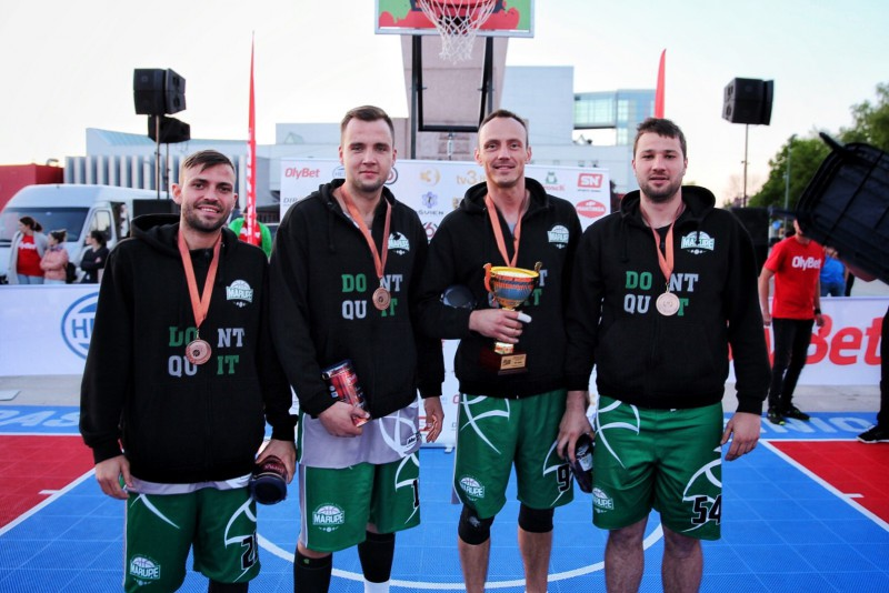 """BK """"Mārupe"""" 3x3 basketbolistiem 3. vieta FIBA """"Satellite"""" Marijampolē"""