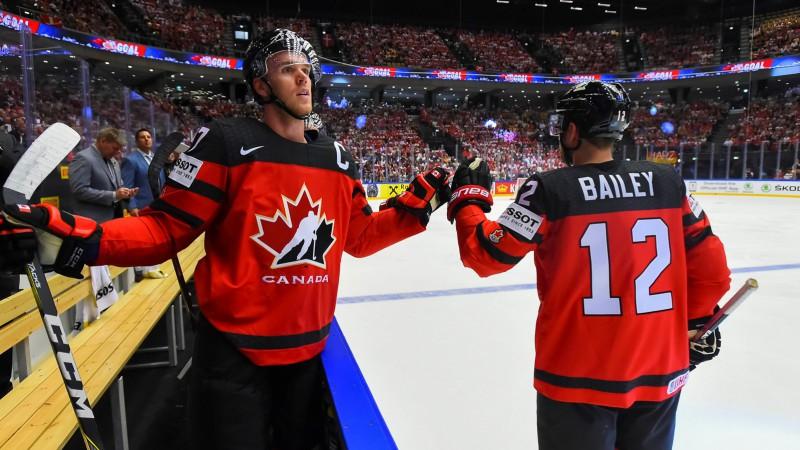 Dānijai izdodas gūt goda vārtus, Kanāda uzvar bez grūtībām