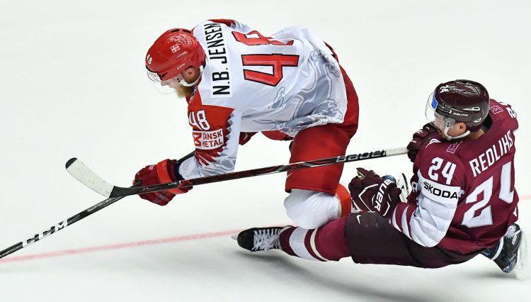 """Paste: """"Latvijas dēļ likās, ka Dānija nemaz neprot spēlēt uzbrukuma hokeju"""""""