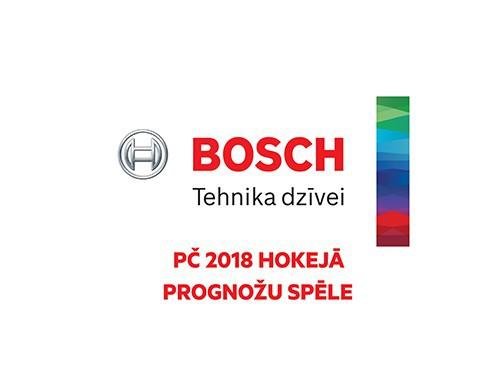 Noslēgusies Bosch PČ 2018 prognožu spēle!