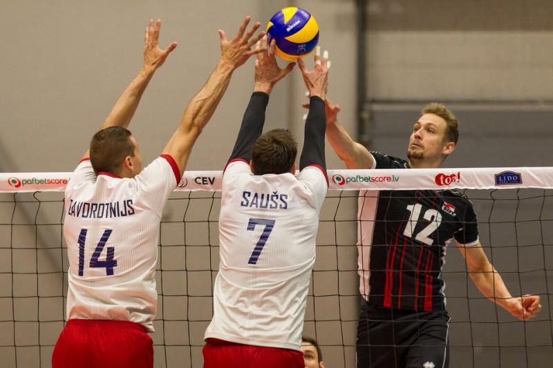 Volejbola izlases izšķirošās Eiropas līgas spēles Sportacentrs.com TV kanālā