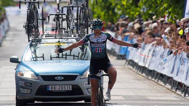 Ārzemju latviete Heine trešo gadu pēc kārtas triumfē Norvēģijas čempionātā