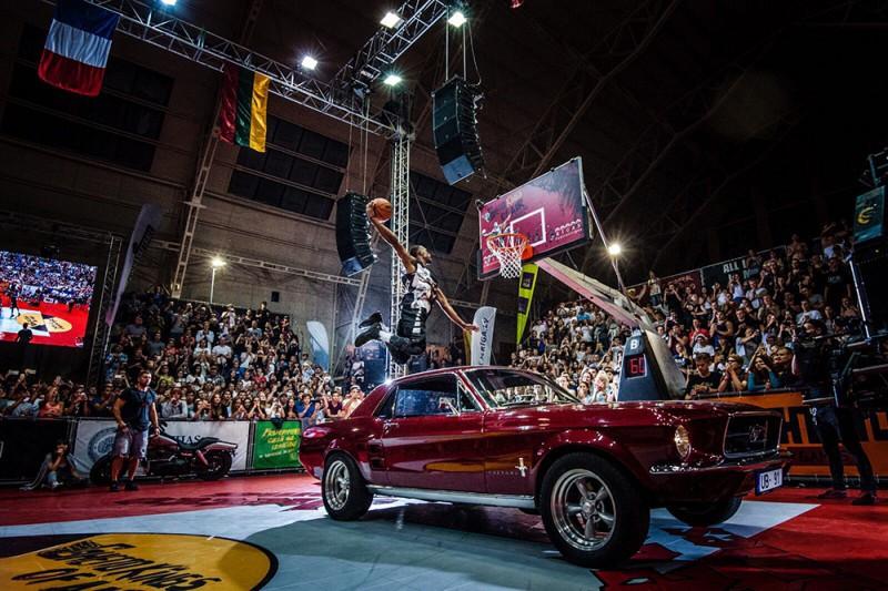 """10. jūlijā Grīziņkalnā pulcēsies pasaules labākie """"Slam dunk"""" meistari"""