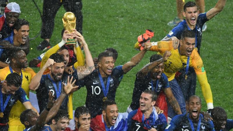 Pasaules kausu futbolā skatījusies gandrīz puse pasaules iedzīvotāju