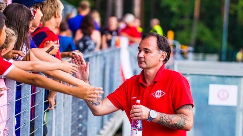 """Grišins pēc zaudējuma lūdz sevi atbrīvot no ''Spartaka"""" galvenā trenera amata"""