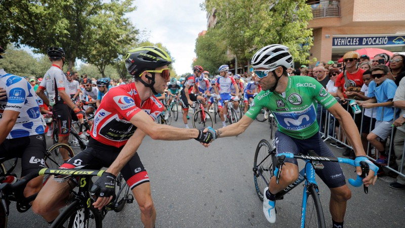 """Pino uzvar """"Vuelta Espana"""" 19. posmā, Jeitss 2 dienas pirms beigām nostiprina pārsvaru"""