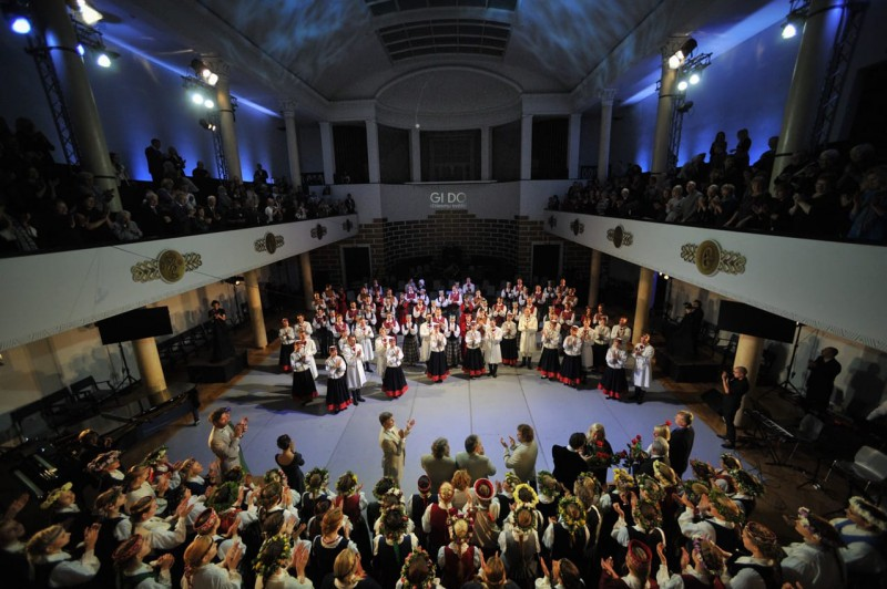 Gido Kokars un viņa Dziesmusvētku Noslēguma koncerta ideālā programma