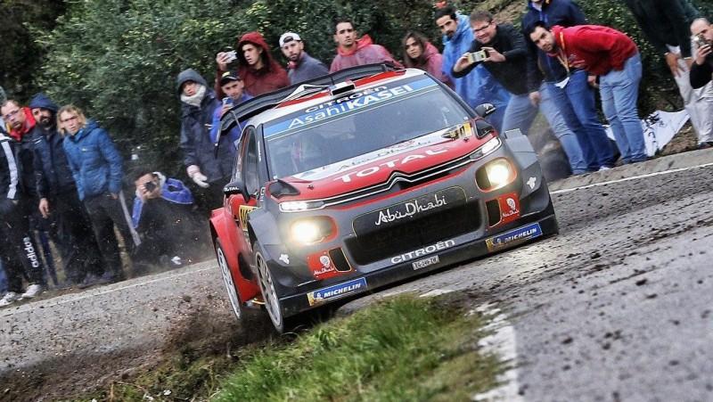 Lēbs nodemonstrē savu talantu un izcīna uzvaru Spānijas WRC rallijā