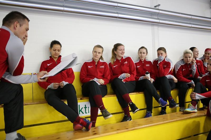 Sieviešu izlasei četras pārbaudes spēles Somijā