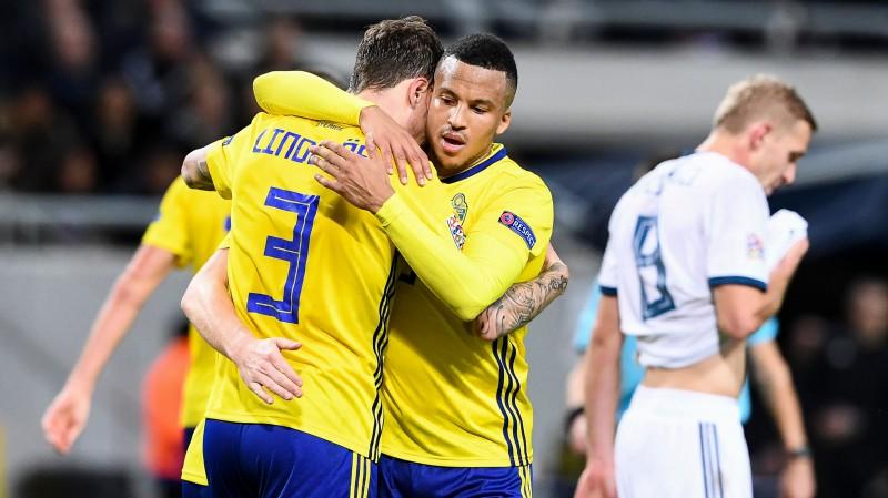 Zviedrija iekļūst A līgā, skoti un serbi tiek B līgā, Forestam un Zeneli hat-trick