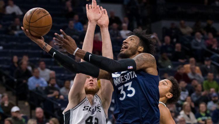 """Bertānam seši punkti, """"Spurs"""" piedzīvo izgāšanos Minesotā, Kurucs paliek rezervē"""