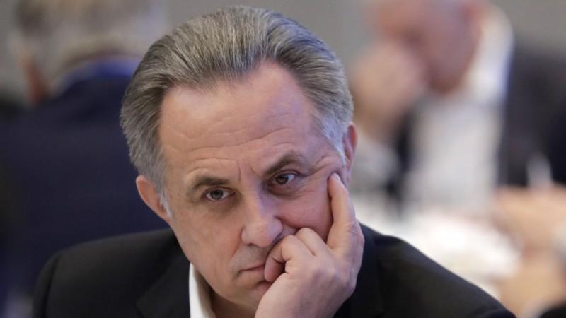 Mutko pamet Krievijas Futbola federācijas prezidenta amatu