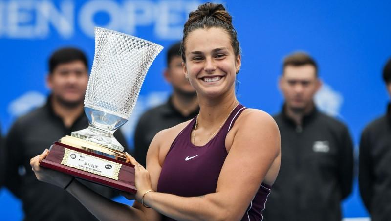 Sezonas pirmajā WTA turnīrā uzvar Sabaļenka