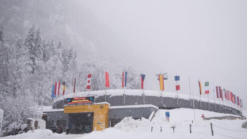 Sniega dēļ atceltas piektdien gaidāmās PK skeletona sacensības
